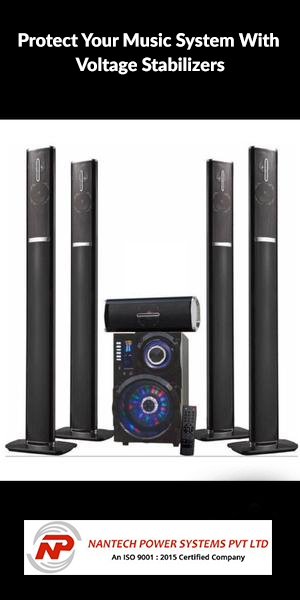 """"""" Home Music Speaker System, Loudspeakers, Surround System Isolated in White Background."""""""