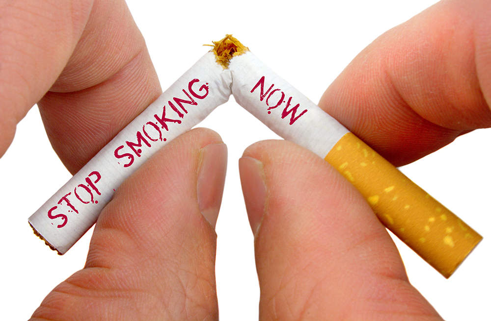 Image showing smoking awareness concept by breaking cigratte