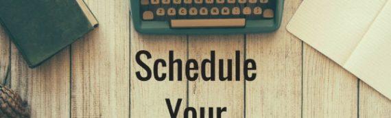 Schedule Your Success